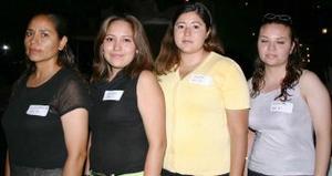 Luz María Vázquez, Brenda Reyes y MArtha Tovar Tostado.