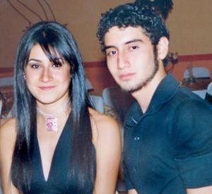 <i><u> 24 de julio</i></u><p>   Mariana y Carlos Díaz Gámez, hijos de los señores Carlos Díaz y Pilar Gámez, captados en pasado festejos ocial.