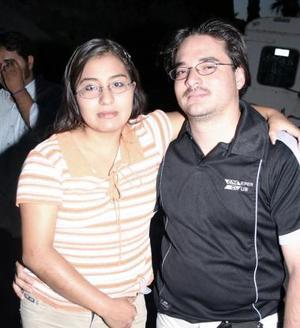 Berenice Hernández Hernández y Carlos Díaz Manzur
