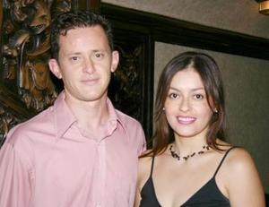 César Atiyeh y Karina Carrasco.