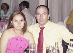 Margarita de Bekris y Constantino Bekris.