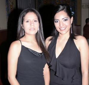 Janeth Casas Silva y Cinthia Lozano.