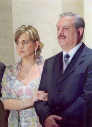 Rocío Villarreal de Juan Marcos y Salomón Juan Marcos Issa..