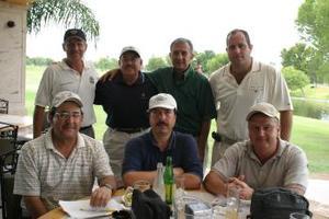 Jorge Cepeda, José Guadalupe, Enrique Méndez, Alberto Martínez, Antonio, Luis Ávila y José Antonio Jaime