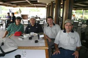 José Arias, Curro Handam, Jaime Boehringer y Gerardo Torres