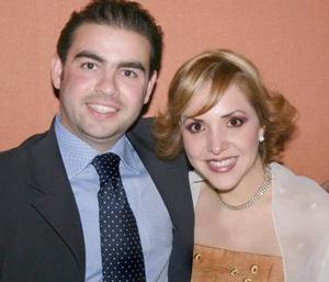 Arturo Sotomayor Ponzanelly y Lucero Méndez Martínez.
