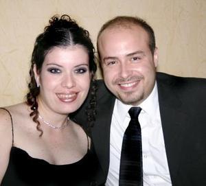 Laura de Romaro e Israel Romero.