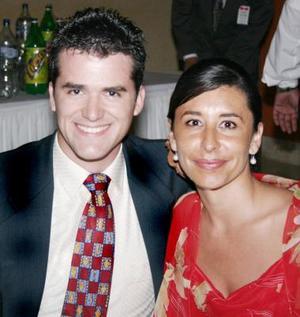 <u><i> 27 de julio </u></i><p>    Román Orozco y Yolanda Vigil Valencia.