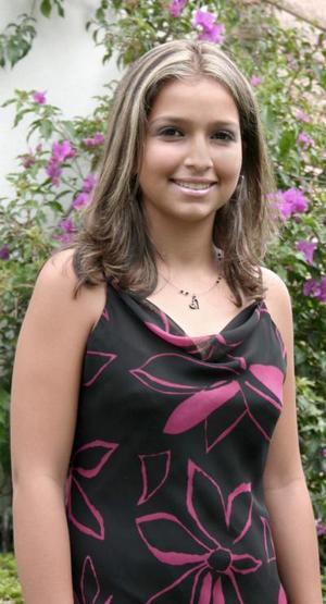 Marifer Christophe García festejó su cumpleaños en dás pasados, es hija de los señores Gerard Christophe y Gina García.