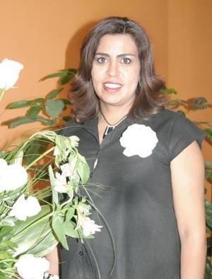 Claudia Cisneros Enríquez, disfrutó de una fiesta de canastilla.