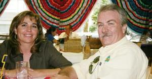 Susy de Ortega y Benjamín Ortega Figueroa.