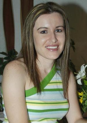 Motserrat Casán Sandoval, captada en su despedida de soltera.