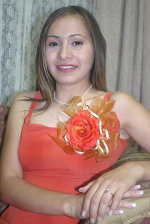Selene Zubiría Arratia unirá su vida a la de Juan Manuel Esquivel Estrada, el próximo 20 de agosto del actual.