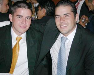 Fernando Alcocer y Francisco Aguirre.