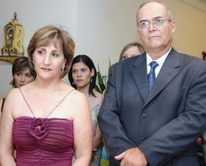 Bertha Berlanga y Luis Portillo.