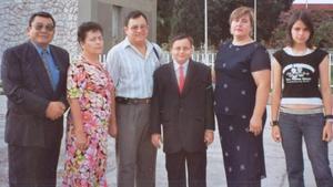 Rodolfo del Río Ma. del Carmen de Del Río, Jesús, Rodolfo, María de los Ángeles y María de los Ángeles del Río Moncayo.