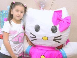Denisse Paulette Ramírez Tovar cumplió siete años de vida y los festejó con un divertido convivio infantil.