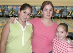 Anilú, Alejandra y MAfer Inguanzo.