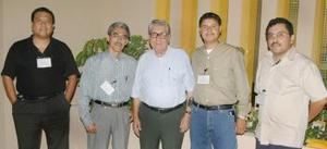 Cuauhtémoc Castro, Ernesto Urrutia, Jesús Zamora, Rogelio Zúñiga y Arturo Herrera.