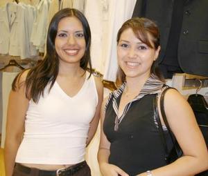 Margarita Díaz y Alejandra Pérez.