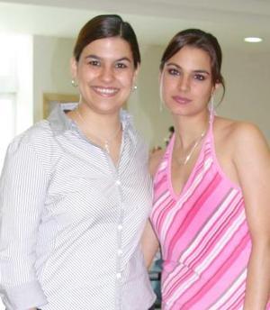 Ana Rosa y Jasmín García de Alba Darwich.