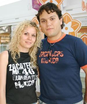 Laura Franch y Floylan Aguirre.