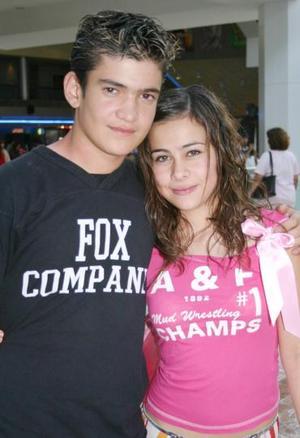Carlos de la O y Mariana Villarreal.