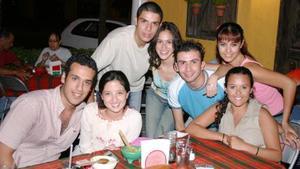 Alfredo, Kaori, Juanjo, Gaby, Víctor, Arely y Acela.