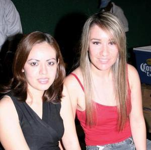 Edith Herrera y Ale Díaz Flores
