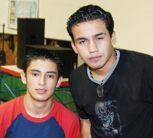 Manuel Gómez y Emmanuel Holguín.