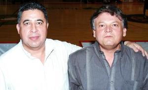 Roberto Plata y Armando Ibarra.