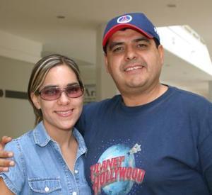 Daniela y Eduardo Cano.