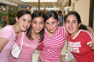 Sara Garibay, Maribel Tumoine, Mónica Madero y Cecy Royo.