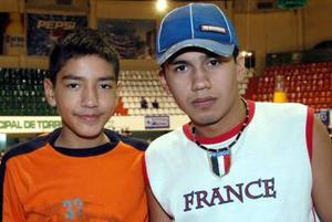 Oscar Murillo y Emmanuel Holguin.