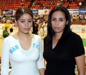 Fabiola Zamora y Lulú Nájera.
