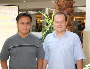 Lic. Julio Rodríguez Tea y Alberto Rodríguez Carrillo.