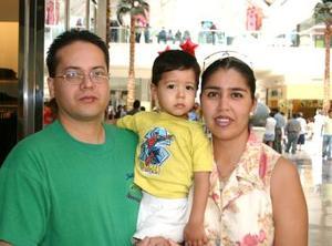 Luis Miguel Ramos, Alexa de Ramos y Luis Miguel Jr.