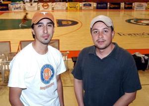 Carlos Medina y Raúl Arredondo.