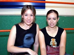 Edith Herrera y Alejandra Díaz Flores.