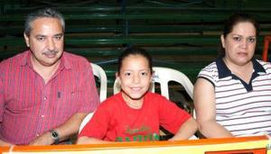 Ing. Albino Guerrero, Lic Noemi González y Noemi Guerreo.