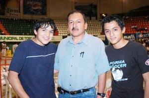 Jorge Fematt, Jorge y Mario Alberto Fematt.