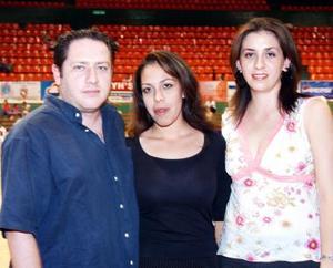 Lucas González Rubio, Dulce Saracho Corral y Cynthia Acosta Zorrilla.