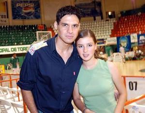 Renata Olivares e Isrrael García.