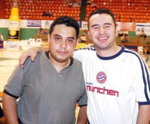 Ricky Arreda y Jorge Martínez.