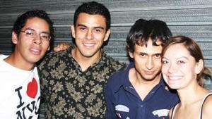 Arturo Aranda, Joselo Cruz, Mario Hernández y Frida Iduñate.
