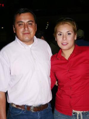 Benjamín García e Irene Silva de García.
