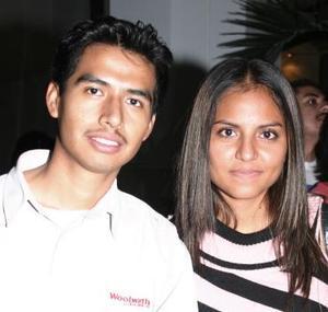 Carolina Yeverino y Rito Gazca.