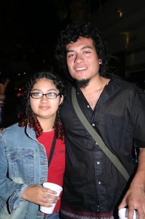 Miguel y Annie.
