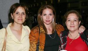 Silvia Villarreal, Silvia Garza y Tere Alanis