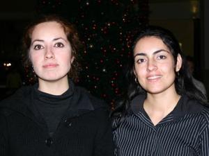 Betty Chawi y Liliana Martínez.